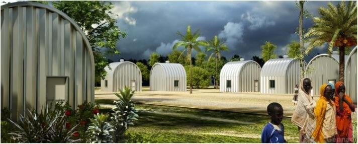 Diuk refugee camp 1